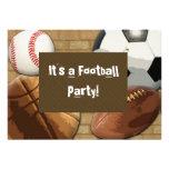 Invitación, deportes fiesta, cumpleaños o cualquie