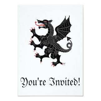 Invitación desenfrenada del Sable del dragón