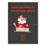 Invitación divertida de la fiesta de Navidad