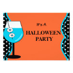 Invitación divertida del fiesta de Halloween