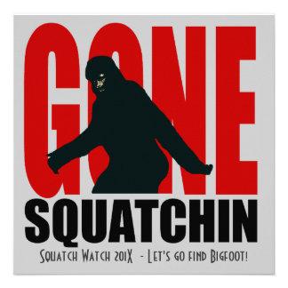 Invitación divertida ida de la caza de Squatchin B