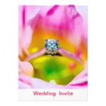 Invitación doble moderna del boda de la felicidad