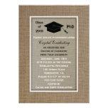 Invitación doctoral de la invitación de la graduac