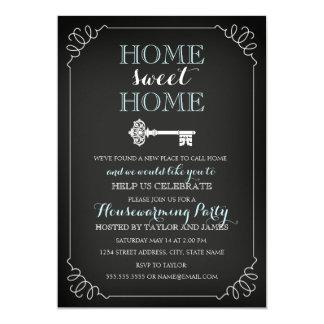 Invitación dominante dulce del estreno de una casa