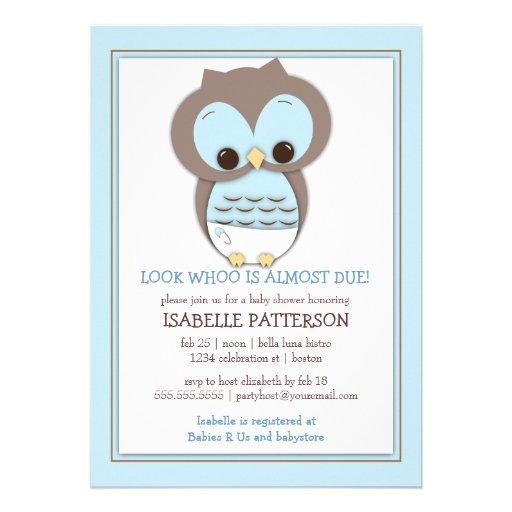 Invitación dulce de la fiesta de bienvenida al beb