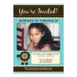 Invitación dulce de la fiesta de cumpleaños del le