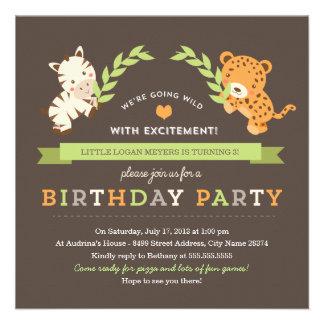 Invitación dulce de la fiesta de cumpleaños del sa