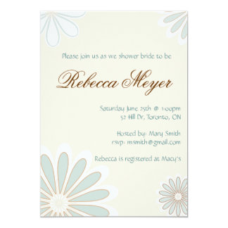Invitación dulce de la flor