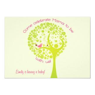 Invitación dulce del bebé del árbol