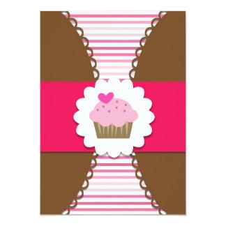 Invitación dulce del fiesta de la magdalena para invitación 12,7 x 17,8 cm