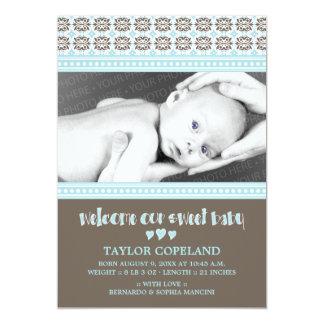 Invitación dulce del nacimiento del bebé