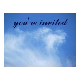Invitación - el cielo sobre San Francisco Invitación 16,5 X 22,2 Cm