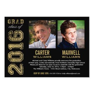 Invitación el | de la fiesta de graduación dos