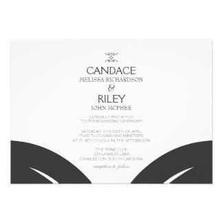 Invitación el del boda 2 hojas I dgrblk