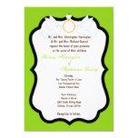 invitación eléctrica del boda de diamante de la