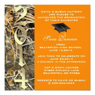 Invitación elegante clásica 2014 de la graduación