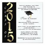 Invitación elegante clásica linda 2015 de la invitación 13,3 cm x 13,3cm