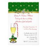 Invitación elegante de la fiesta de Navidad