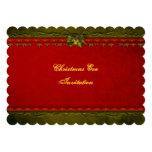 Invitación elegante de la Nochebuena