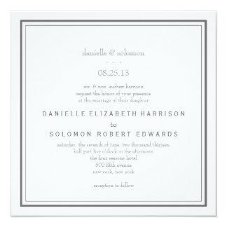 Invitación elegante del boda - cambie el fondo