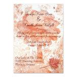 Invitación elegante del boda de la caída