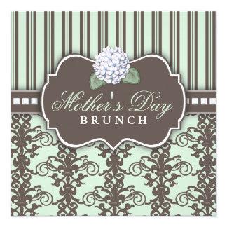 Invitación elegante del brunch del día de madre de