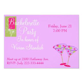 Invitación elegante del fiesta de Bachelorette