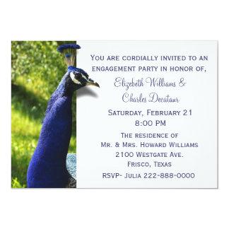 Invitación elegante del fiesta de compromiso del