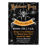 Invitación elegante del fiesta de Halloween de la