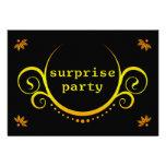invitación elegante del fiesta de sorpresa