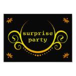 invitación elegante del fiesta de sorpresa invitación 8,9 x 12,7 cm