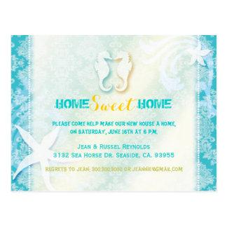 Invitación elegante del fiesta del estreno de una postales