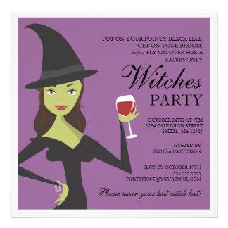 Invitación elegante fantasmagórica de Halloween de