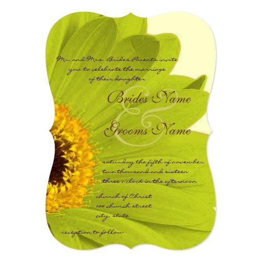 Invitación elegante hermosa del boda de la