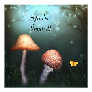 Invitación encantada del acontecimiento del jardín