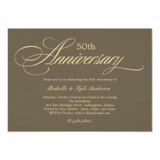 Invitación encantadora del aniversario de la