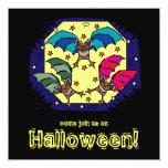 Invitación enrrollada del fiesta de Halloween de