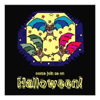 Invitación enrrollada del fiesta de Halloween de l