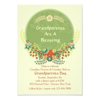 Invitación especial del día de los abuelos