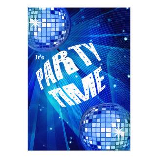Invitación especial del fiesta de la celebración