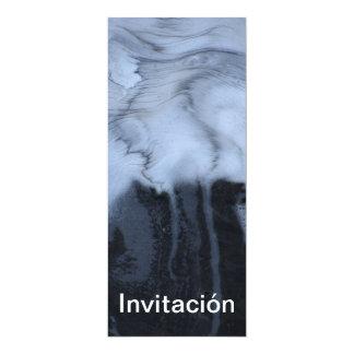 Invitación - Espuma de Mar 4x9.25 Paper Invitation Card