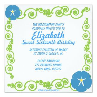 Invitación eterna de la primavera de invitación 13,3 cm x 13,3cm