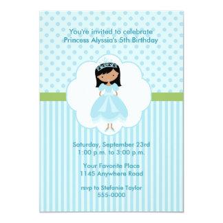 Invitación étnica de la fiesta de la princesa