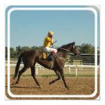 Invitación excelente del caballo de raza