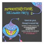 Invitación extranjera del fiesta de Halloween del