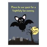 Invitación extravagantemente de Halloween