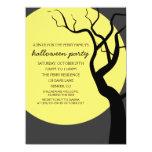 Invitación fantasmagórica del fiesta de Halloween Invitación 13,9 X 19,0 Cm