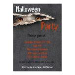 invitación fantasmagórica del traje de Halloween