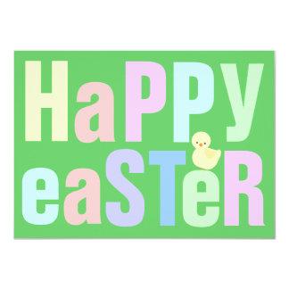 Invitación feliz de la cena de Pascua