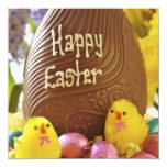 Invitación feliz del fiesta de Pascua Invitación 13,3 Cm X 13,3cm